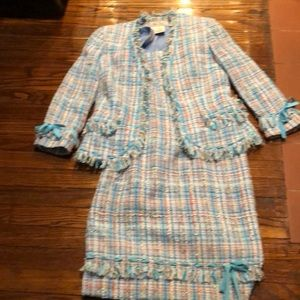 CARLISLE 2 Hand woven fabric Chic fringe & bows